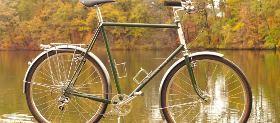 Graham's 650B city bike