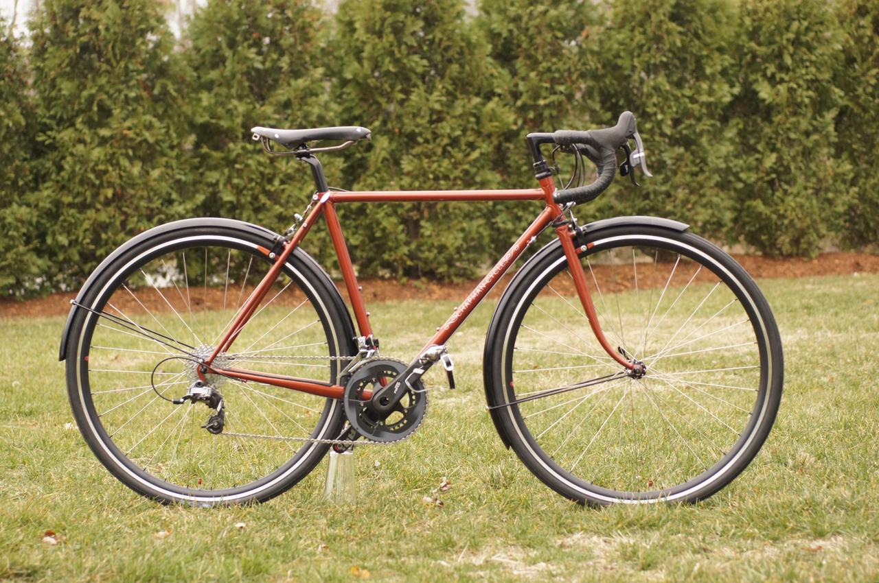 Jon\'s big tire road bike - Chapman Cycles