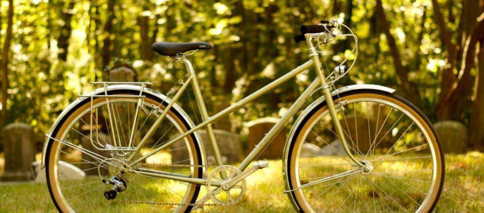 Leslie's 650B mixte city bike
