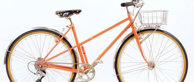 Deb's mixte basket bike