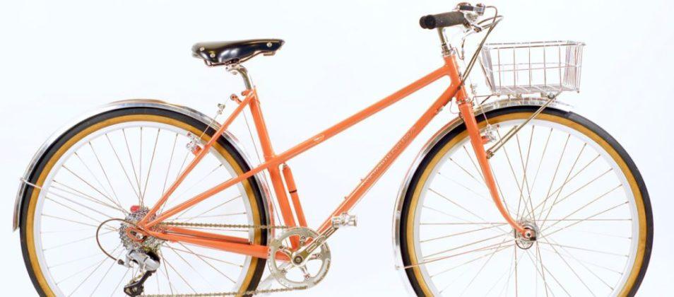 Deb's mixte basket bike