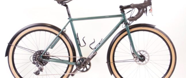 David's all-road bike