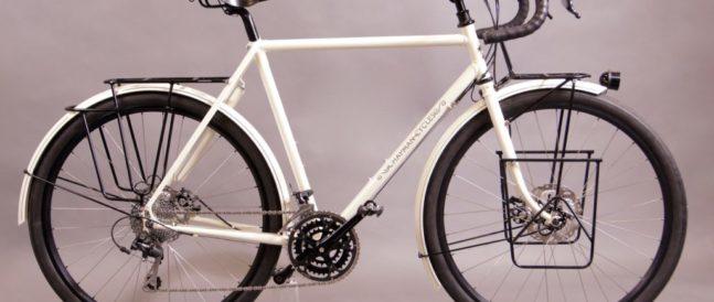 Kim's 650b loaded touring bike